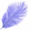 """Ostrich Drab Feathers 6-8"""" Premium Quality Lilac"""